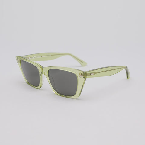 Acne Studios Ingrid Sunglasses in Green/Black - Notre