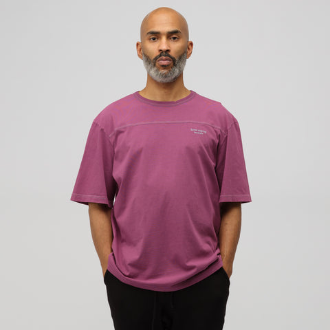 Acne Studios Edwin Acid T-Shirt in Grape Purple - Notre