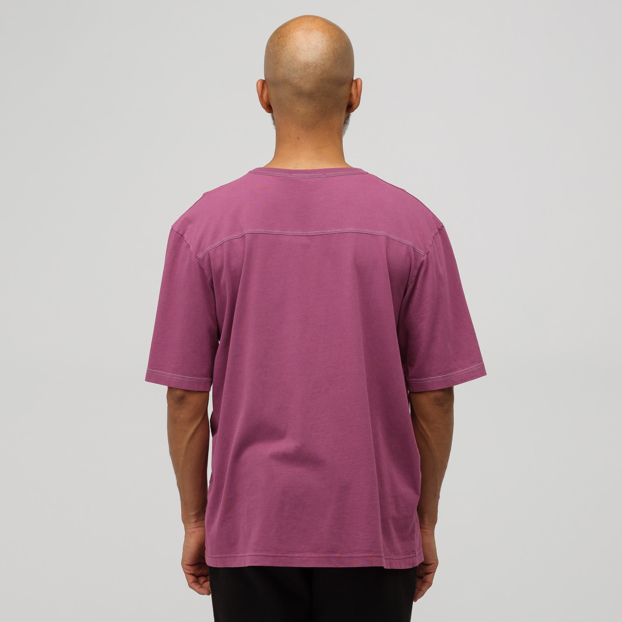 Edwin Acid T-Shirt in Grape Purple