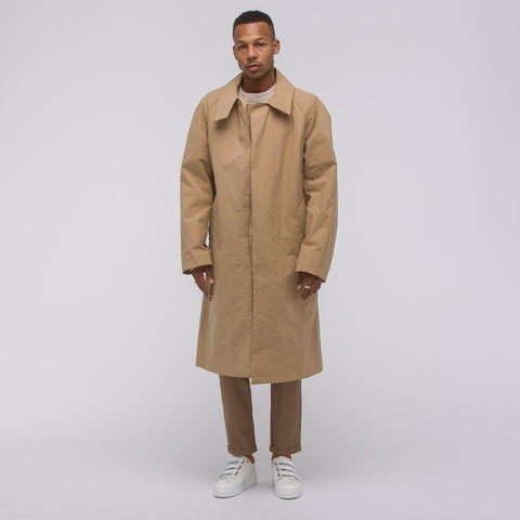 Acne Studios Monitor Coat in Paper Bag Brown - Notre