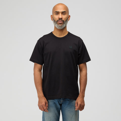 Acne Studios Nash Face T-Shirt in Black - Notre
