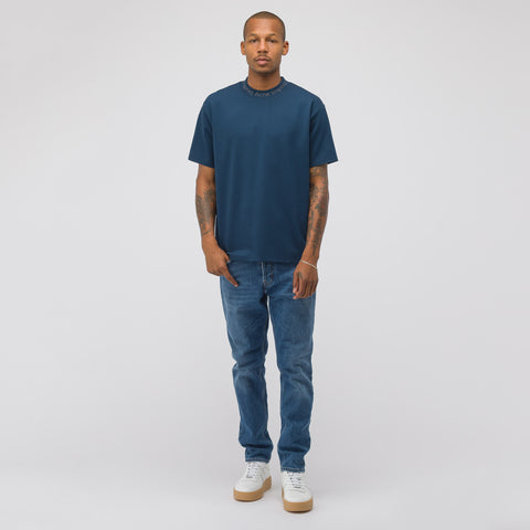 Acne Studios Navid T-Shirt in Mineral Blue - Notre
