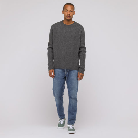 Acne Studios Nicholas Sweater in Charcoal Melange - Notre