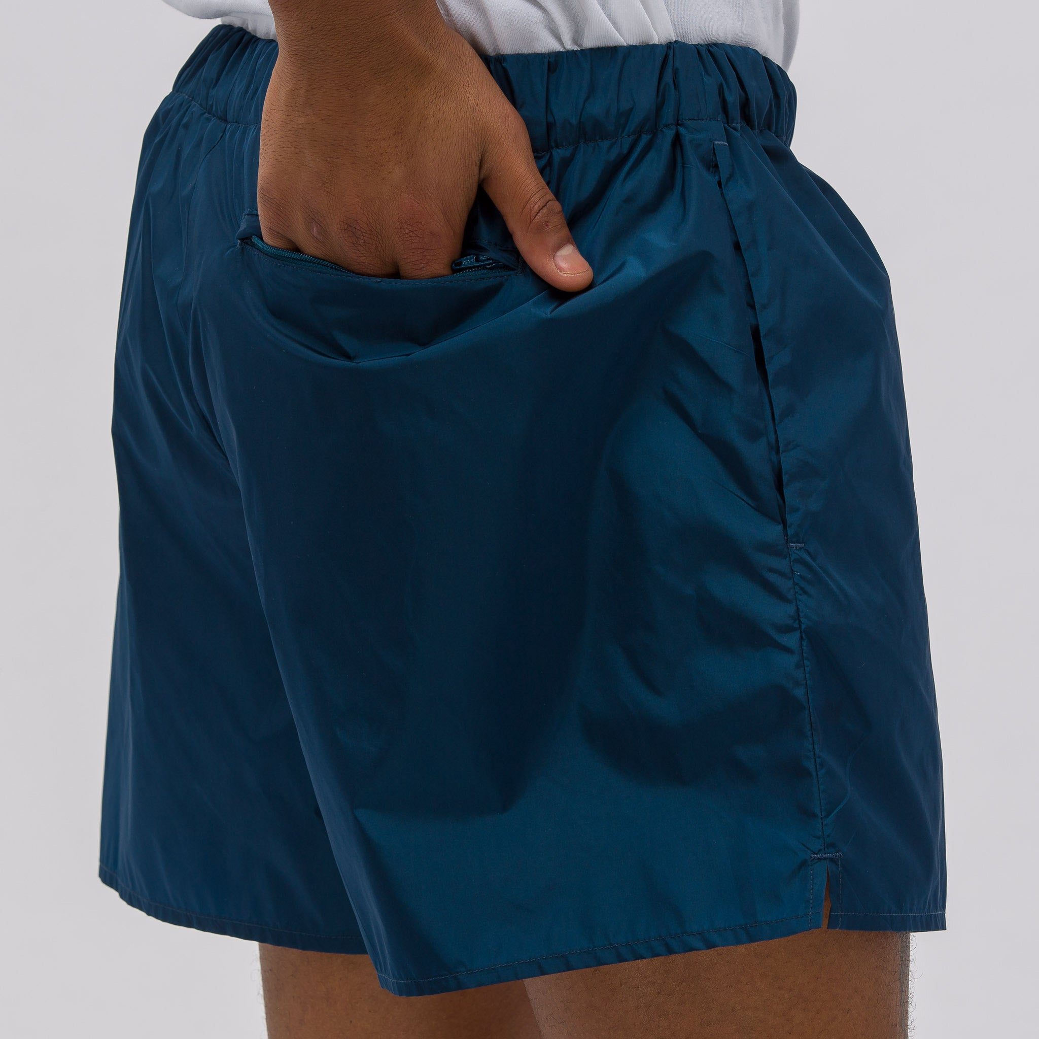 Perry Nylon Short in Teal
