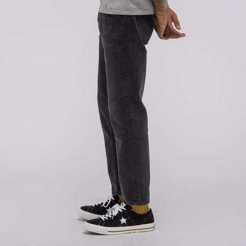 Acne Studios Blå Konst River Denim in Used Black - Notre