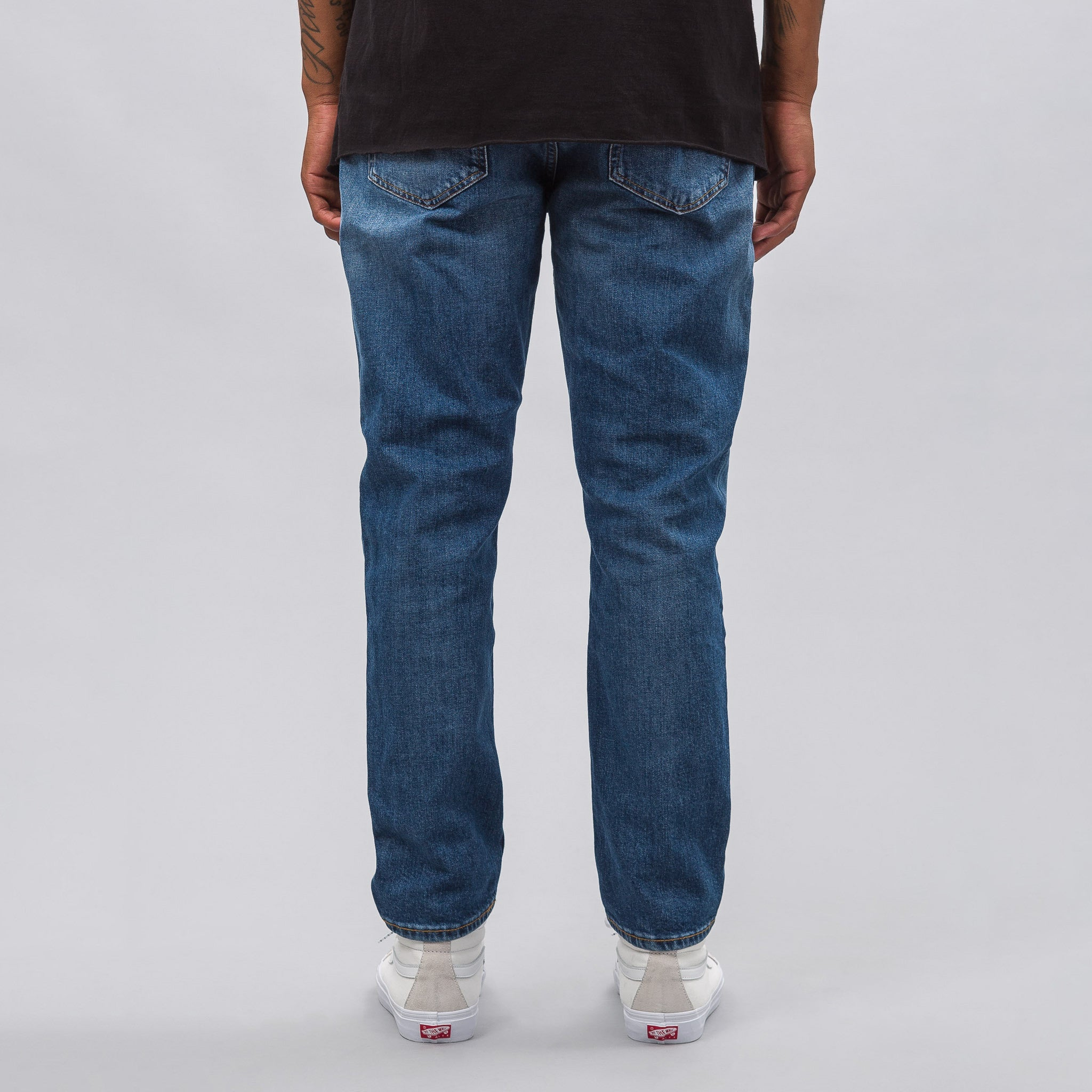 7a8966cdf9b Acne Studios River Mid Denim in Blue 1