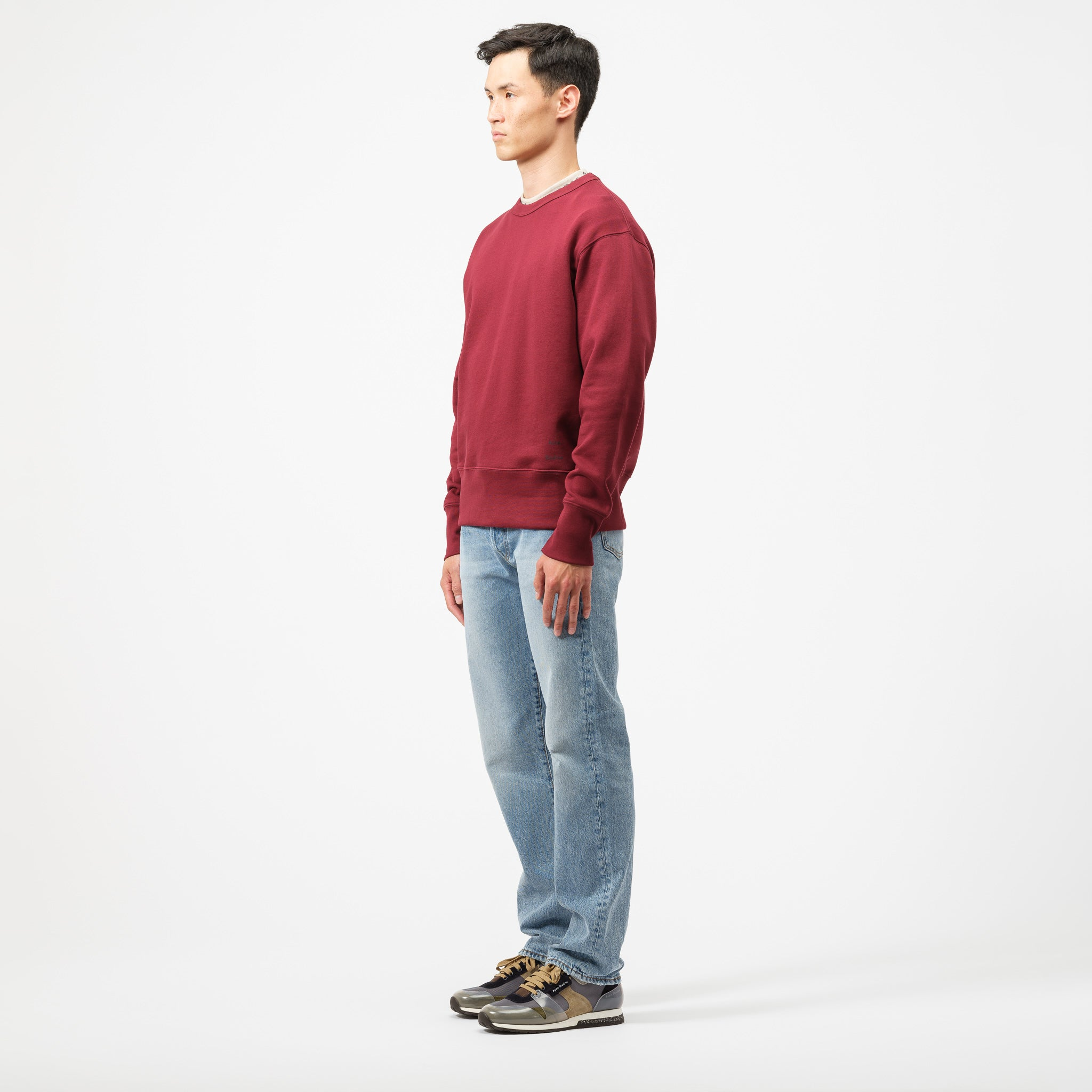 Fayze Sweatshirt in Rosewood Red