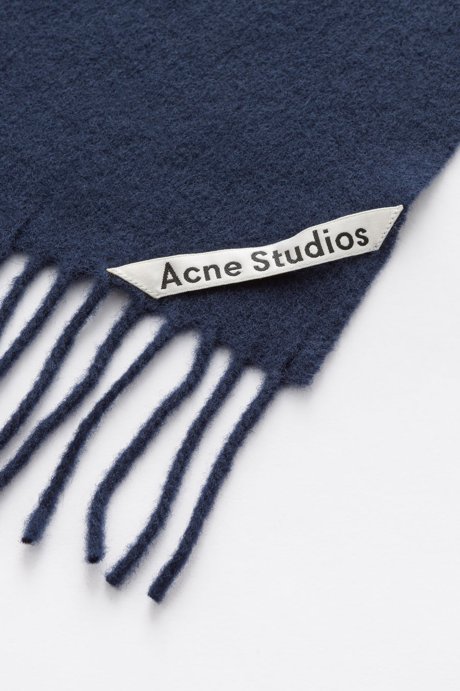 Acne Studios Canada New Scarf in Navy Blue - Notre