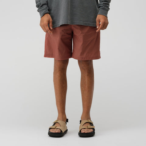 Acne Studios Nylon Shorts in Ginger Orange - Notre