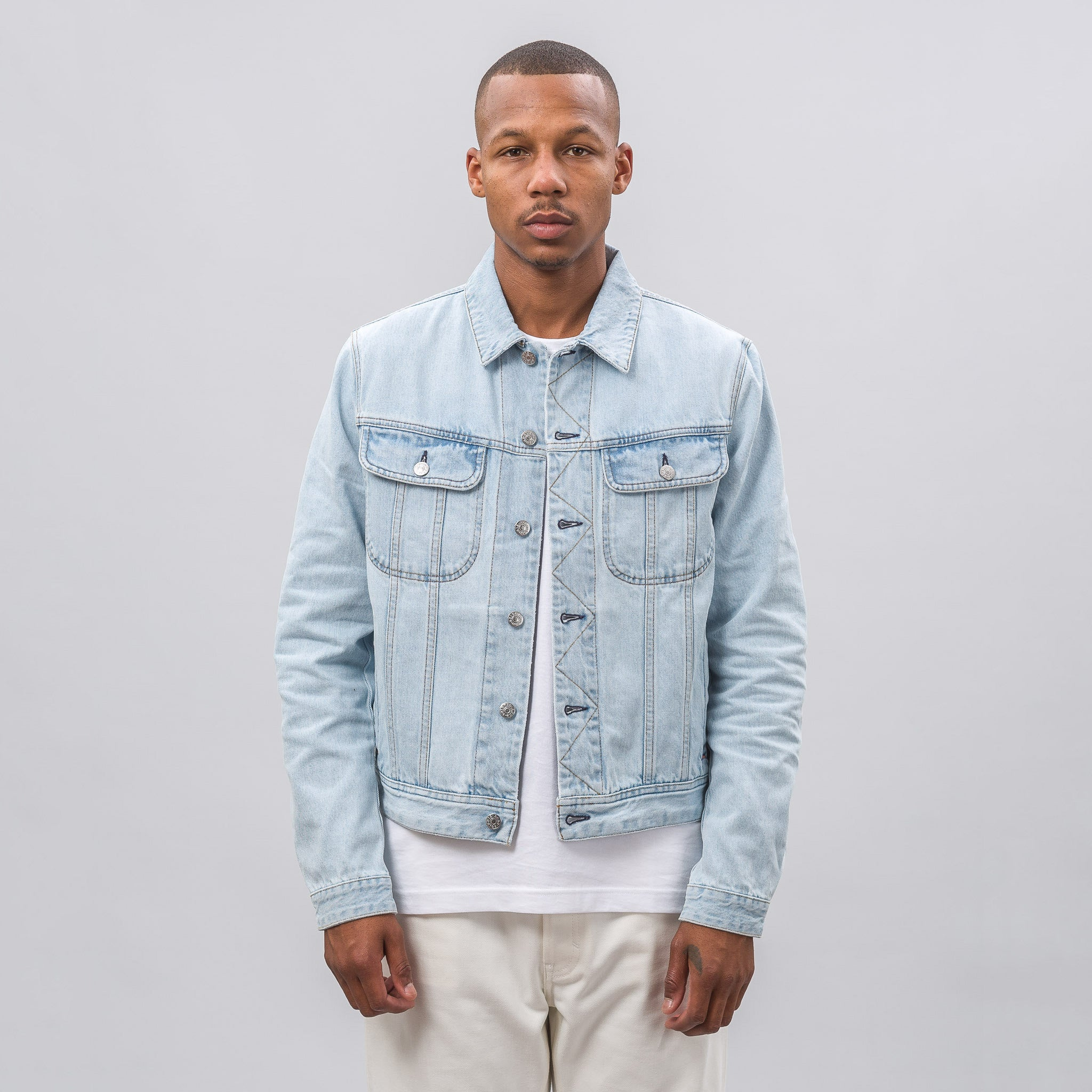 Tent Jacket in Light Blue 1