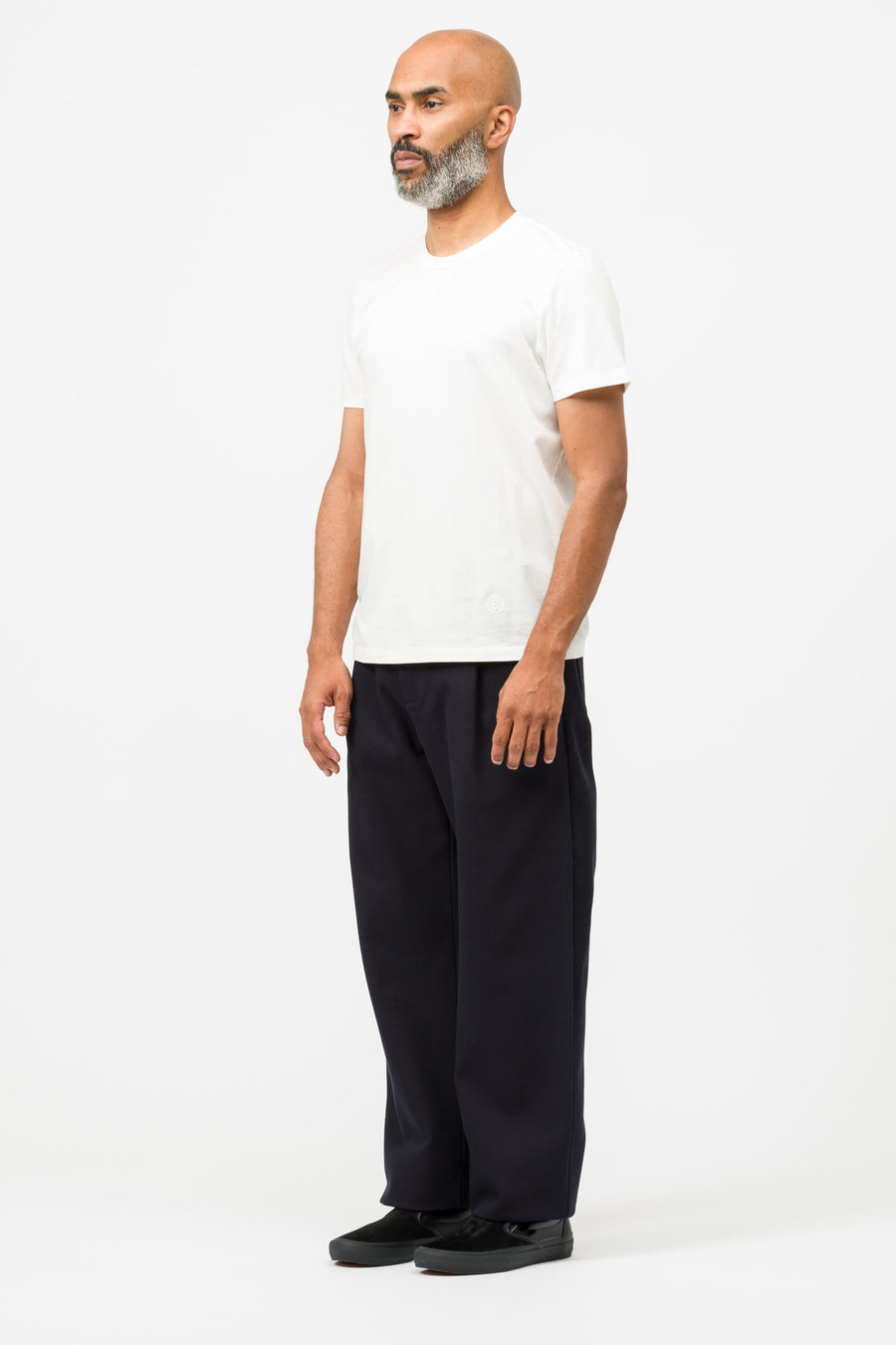 Acne Studios Parker Jumbo Trousers in Navy Blue - Notre