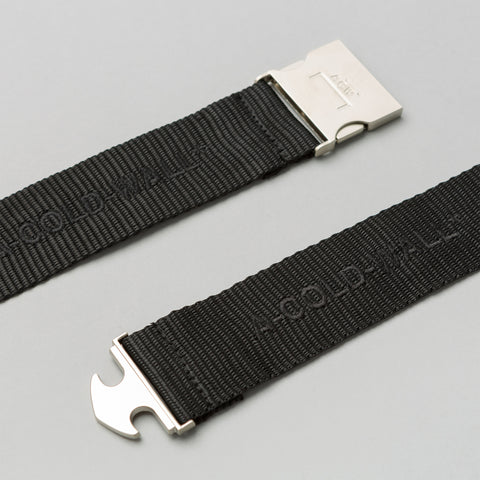 A-COLD-WALL* Industrial Webbing Belt in Black - Notre