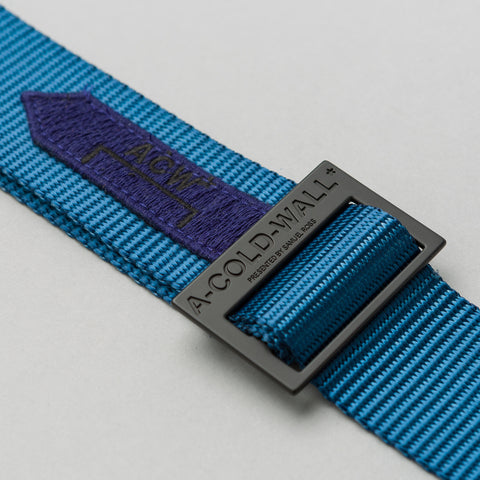 A-COLD-WALL* Industrial Webbing Belt in Blue - Notre