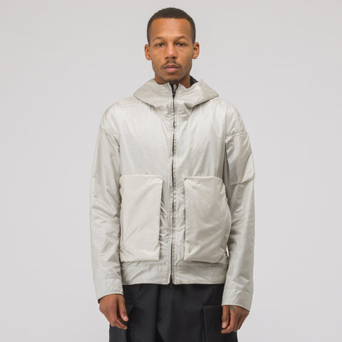 Acronym J74-PX HD Nylon Polartec Alpha Modular Liner Jacket in White - Notre