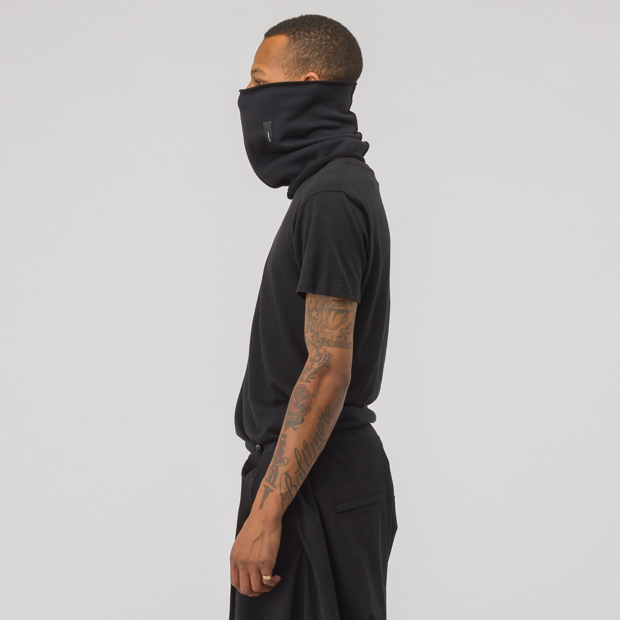 NG8-PS Power Stretch Neck Gaiter in Black