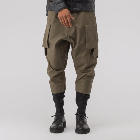 Acronym P23A-S HD Cotton Cargo Drawcord Trouser in RAF Green - Notre
