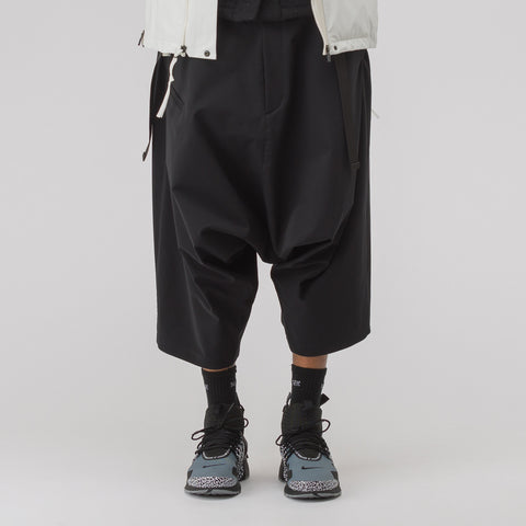 Acronym P27H-DS Schoeller Dryskin Ultrawide Trouser in Black - Notre