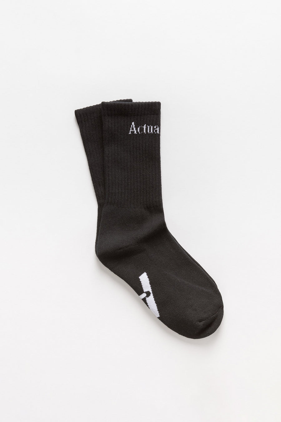 Actual Source Socks in Black - Notre