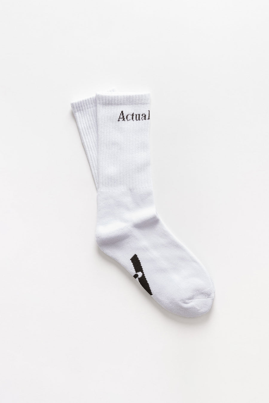 Actual Source Socks in White - Notre