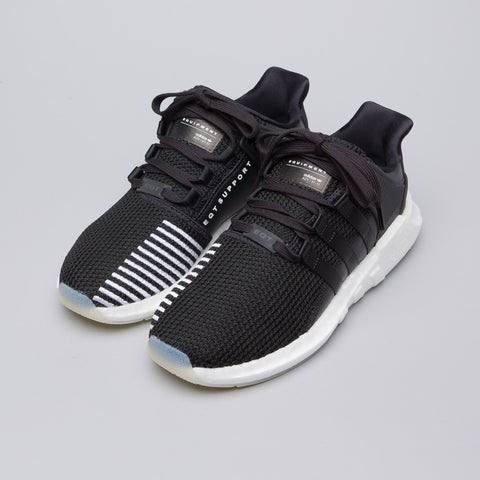 Adidas EQT Support 93/17 in Core Black/Running White - Notre