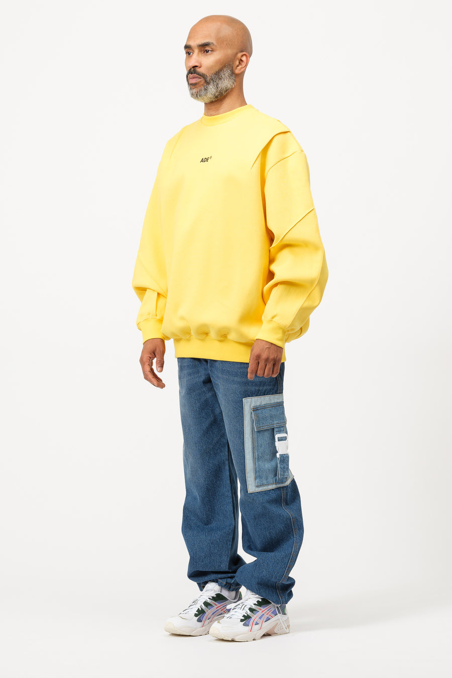 Adererror Ade Sweatshirt in Yellow - Notre