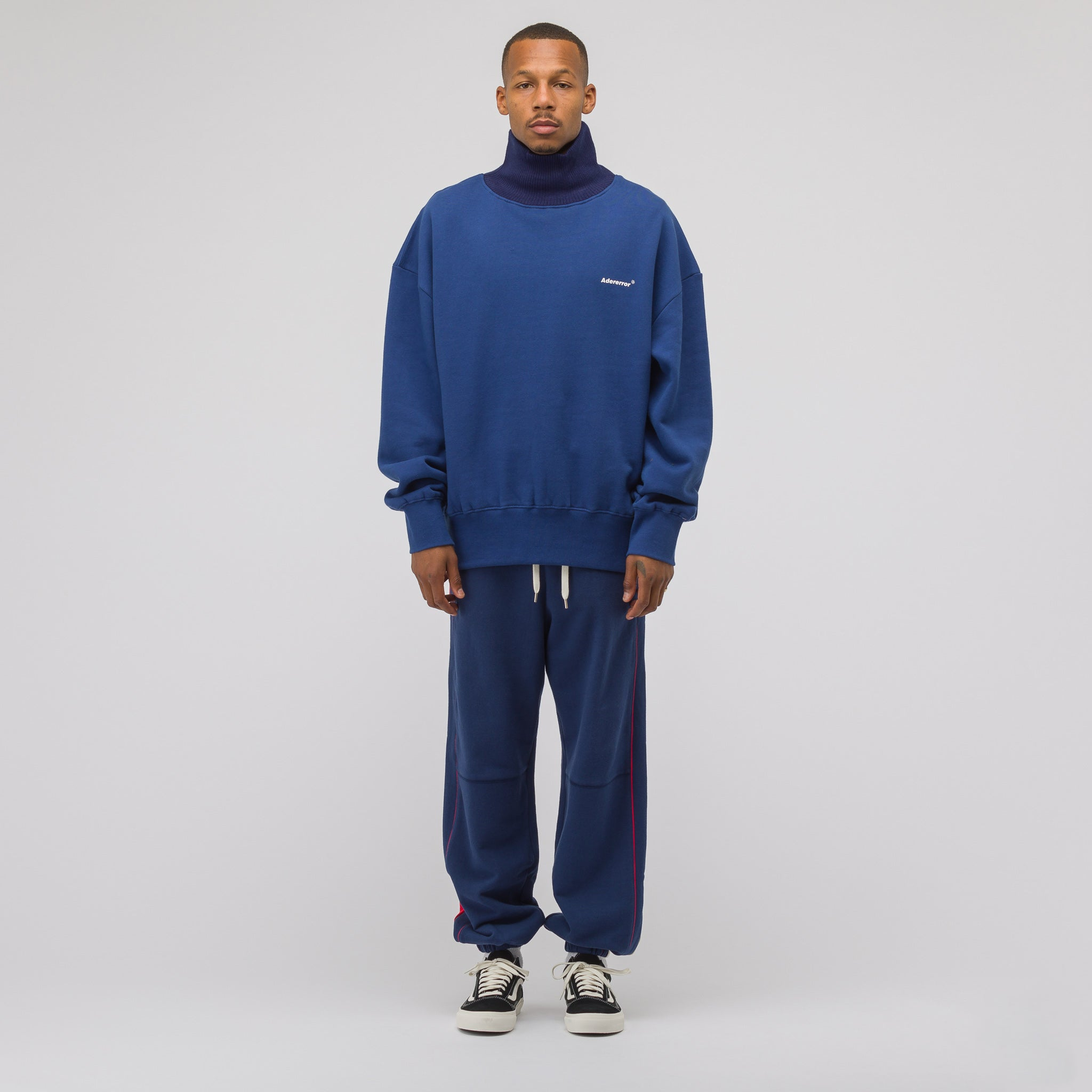 Incision Jogger Trouser in Navy