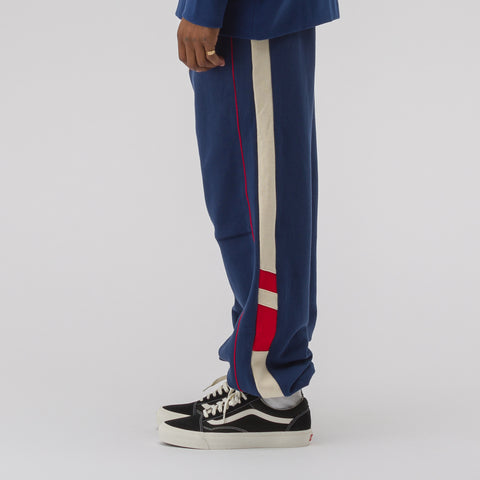 Adererror Incision Jogger Trouser in Navy - Notre