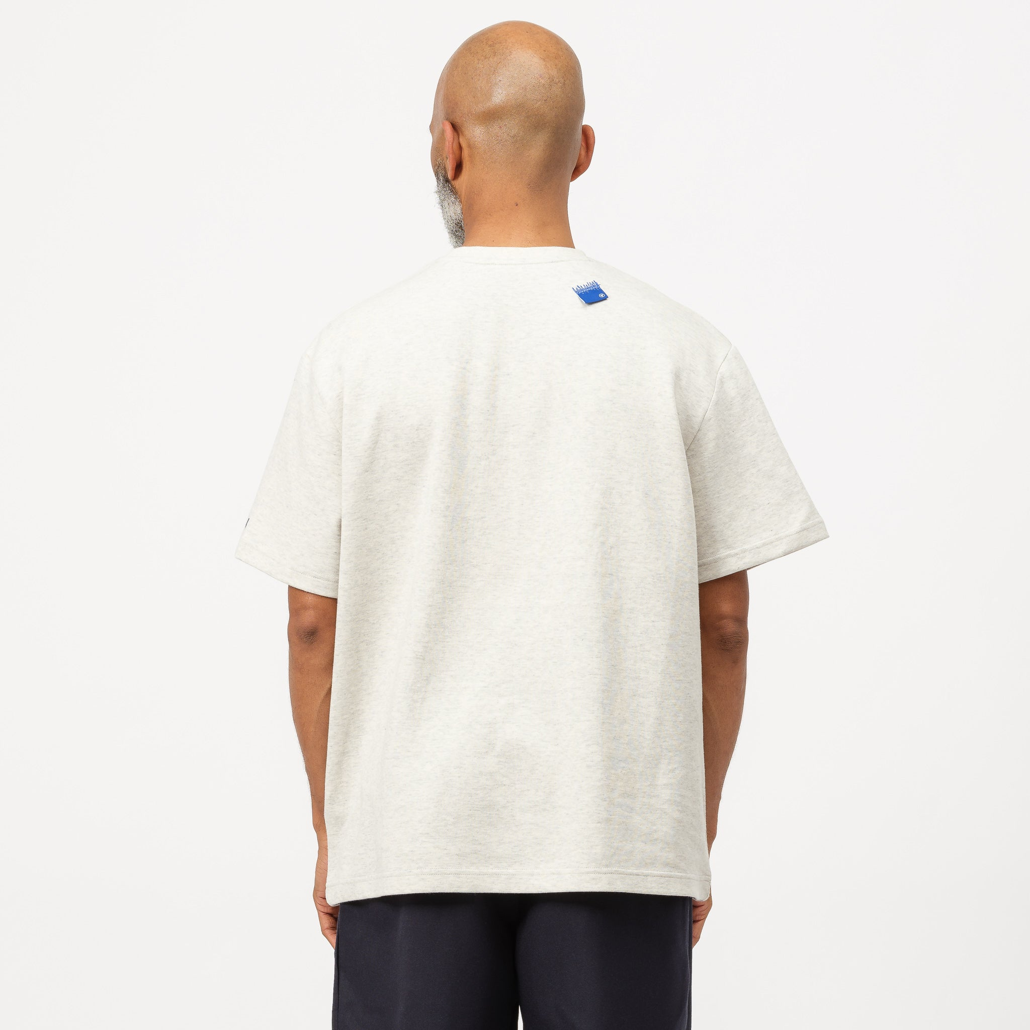 Form Logo T-Shirt in Oatmeal