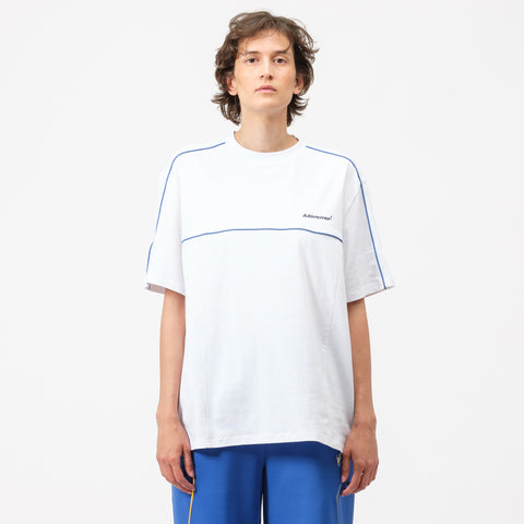 Adererror Linearrow Logo T-Shirt in White - Notre