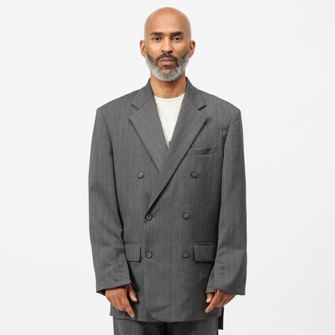 Adererror Manteau Jacket in Grey - Notre