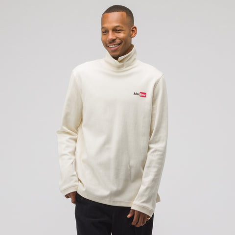 Adererror Over Wrapped Turtleneck T-Shirt in White - Notre