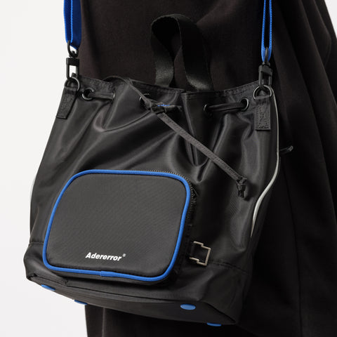 Adererror Peanut Backpack in Black - Notre
