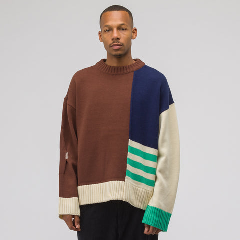 Adererror Piece Knitwear in Brown - Notre