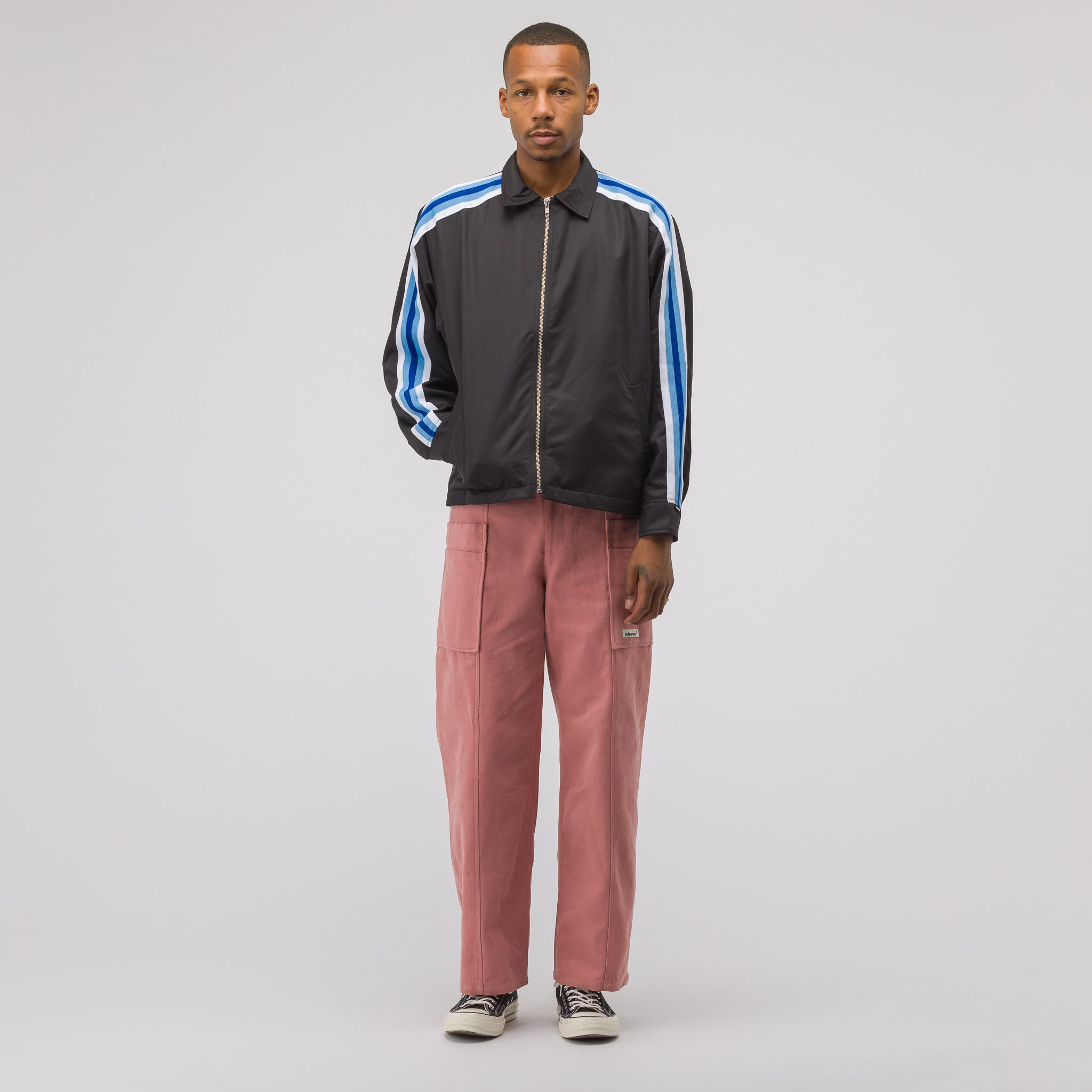 Side Pocket Trousers in Pink