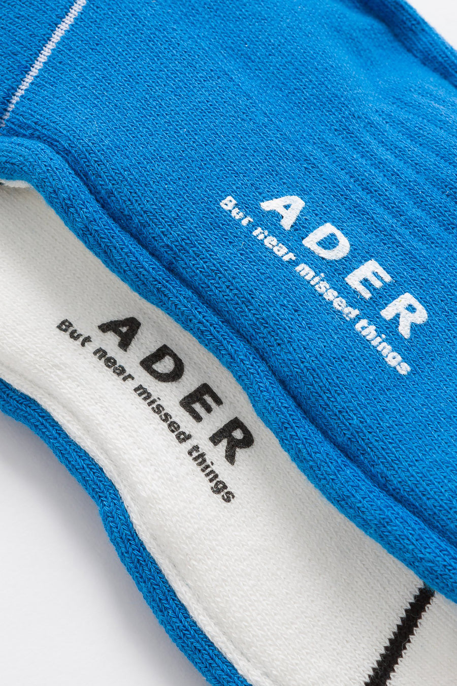 Adererror Ade Sock in Blue/White - Notre