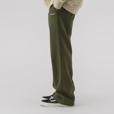 Adererror Straight Track Trousers in Khaki - Notre