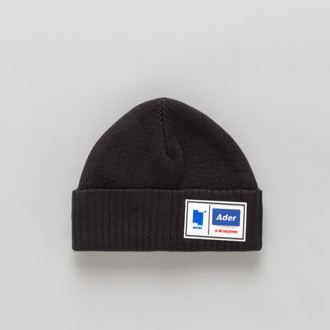 Adererror Tetris Label Beanie in Black - Notre