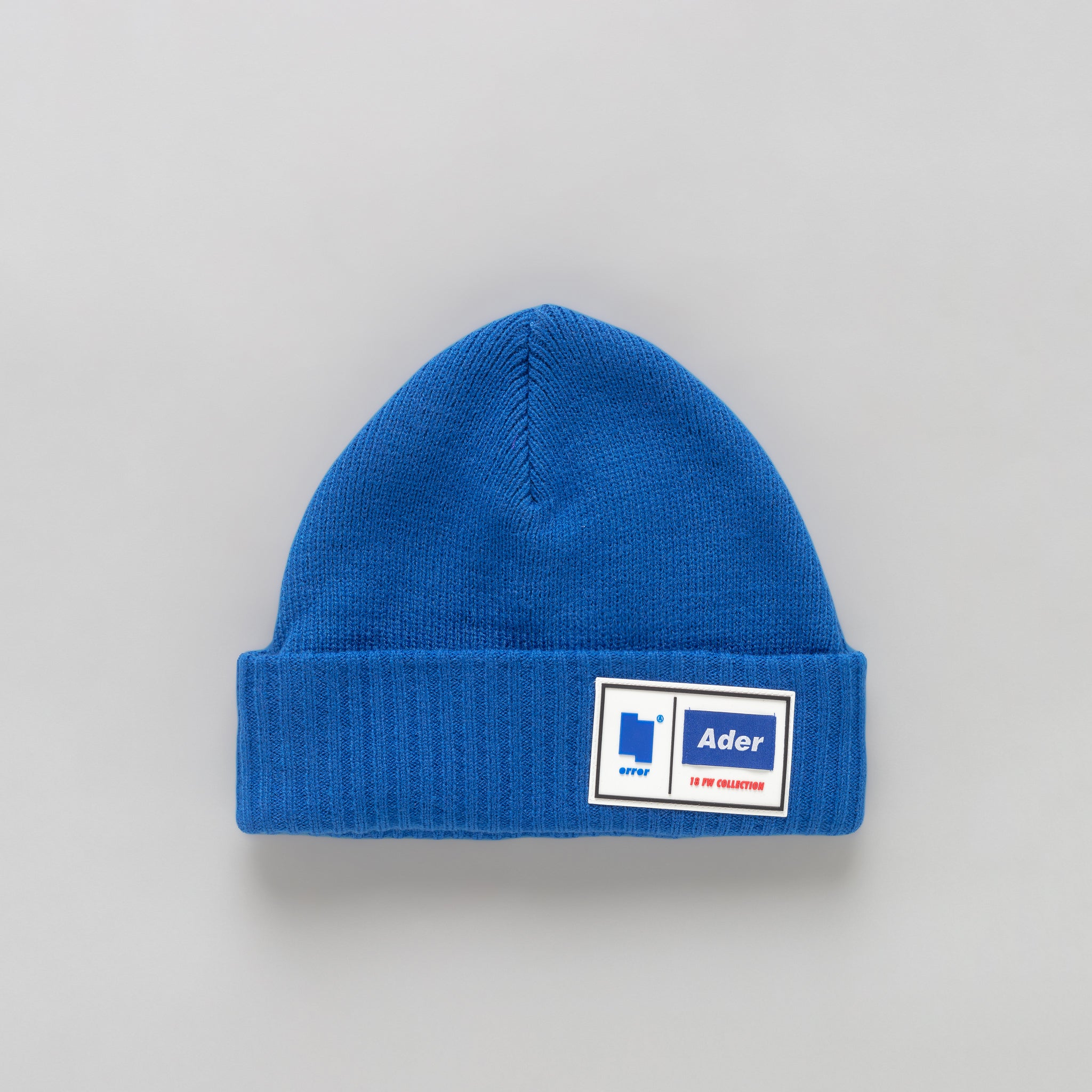 Tetris Label Beanie in Blue