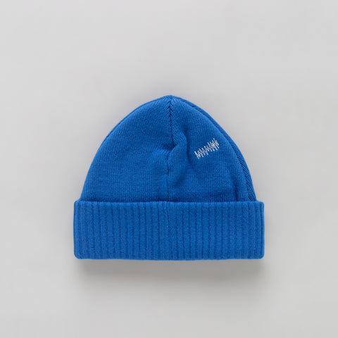 Adererror Tetris Label Beanie in Blue - Notre