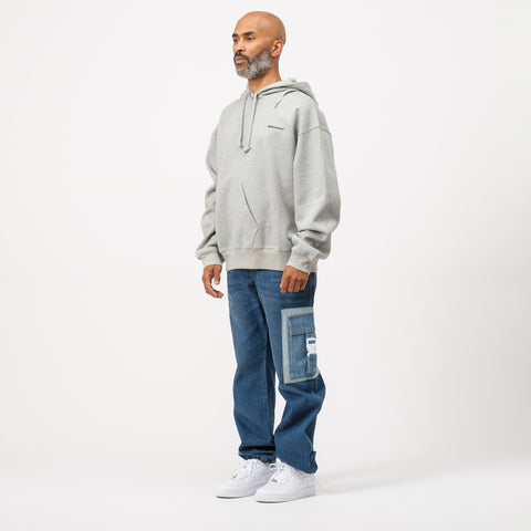 Adererror Thunder Hoodie in Grey - Notre
