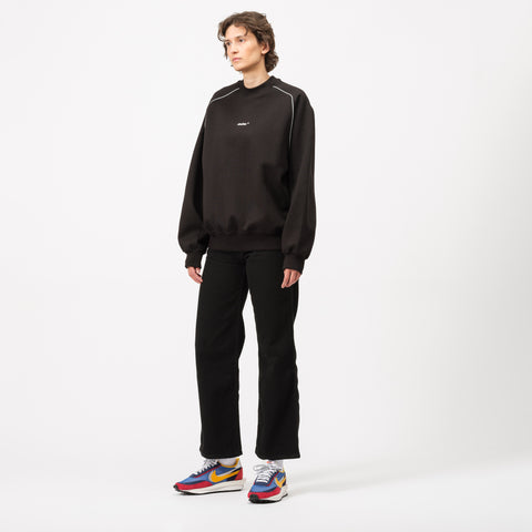 Adererror Thunder Sweatshirt in Black - Notre