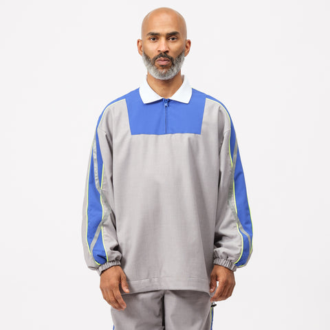 Adererror Thunder Track Top in Grey - Notre
