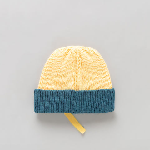 Adererror Vint Beanie in Yellow/Blue - Notre