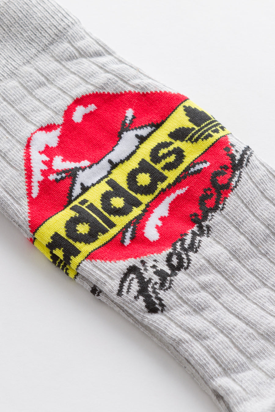 adidas Fiorucci 2 Pack Socks in Grey.White - Notre