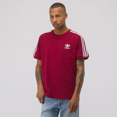 adidas 3-Stripes T-Shirt in Red - Notre