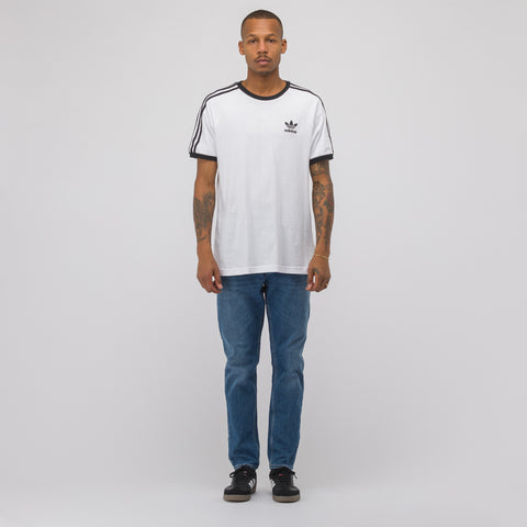 adidas 3 Stripes T-Shirt in White - Notre