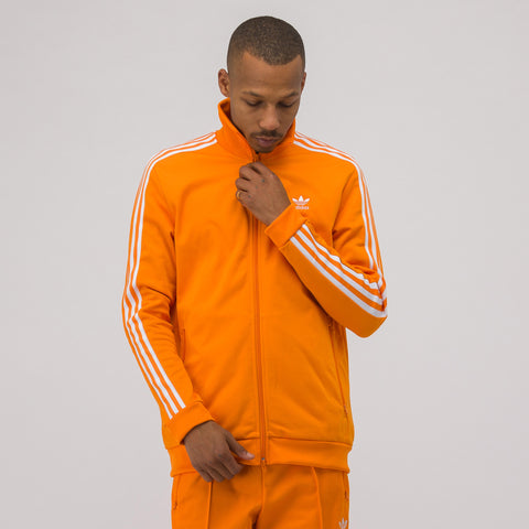 adidas Beckenbauer Track Jacket in Orange - Notre