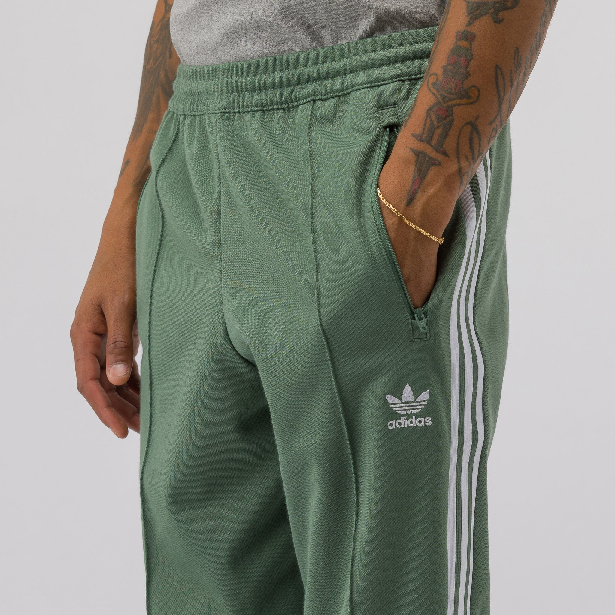 Beckenbauer Track Pant in Green