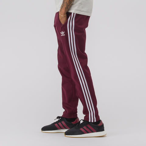 adidas Beckenbauer Track Pant in Red - Notre