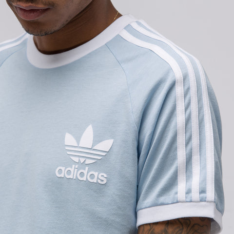 Adidas CLFN Tee in Easy Blue - Notre